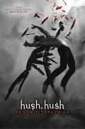 Book Cover of Hush Hush by Becca Fitzpatrick