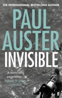 Book Cover of Invisible by Paul Auster