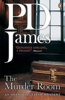 Book Cover of The Murder Room by P.D. James